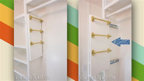 Saving Small Closet Spaces With Stainless Steel And Plastic Hanging Shoe Rack Storage The These Diy Belt And Scarf Organizers Save Space In Small Closets