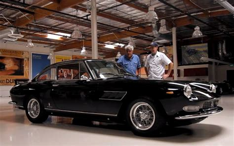leno s garage finally welcomes a courtesy of