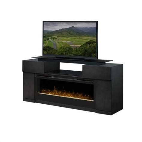 Electric Fireplace Tv Stand Dimplex Concord Electric Fireplace Entertainment Center Tv Stand Ebay