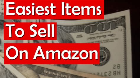 best on amazon easiest items to sell on amazon for a profit youtube