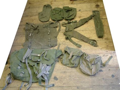 58 pattern webbing review 58 pattern webbing set by british army
