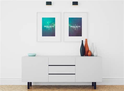 free room free living room poster mockup mockupworld