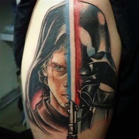darth vader tattoo awesome darth vader on half sleeve