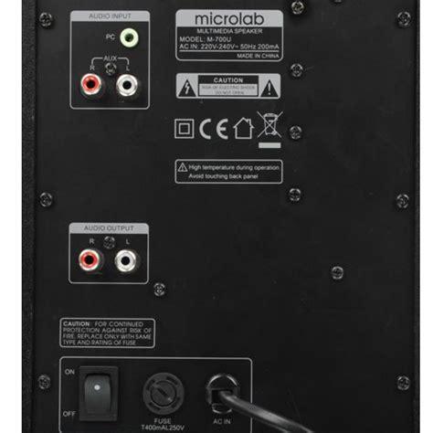 Microlab M 700u Tipe 2 1 By A16com peso c embalagem 3 7 kg
