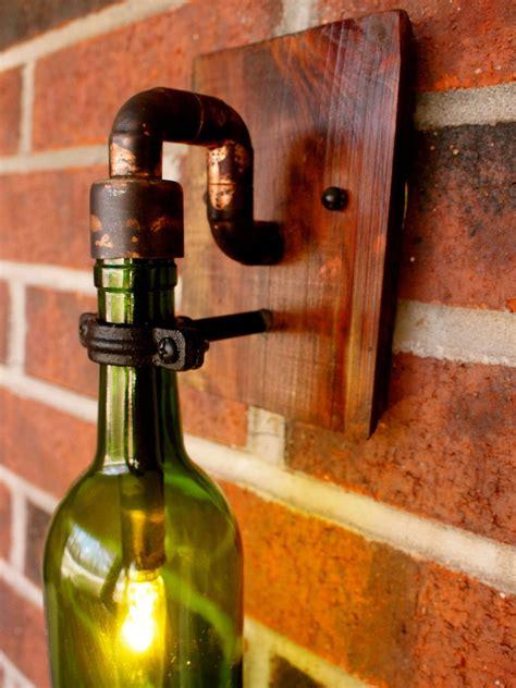 light wine wine bottle light l industrial sconce exterior 40