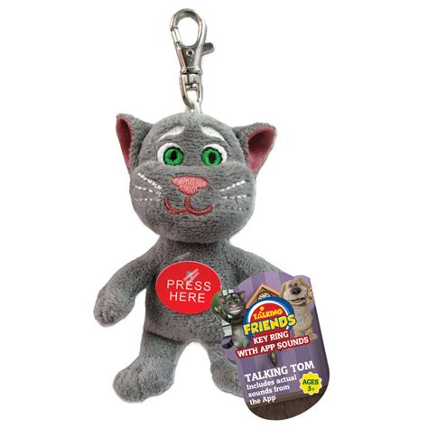 T Shirt My Talking Tom talking tom keyring iwoot
