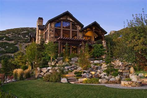 beautiful mountain houses immagini dell esterno di 18 case rustiche bellissime