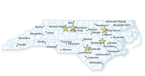 carolina college map map of carolina colleges pictures to pin on