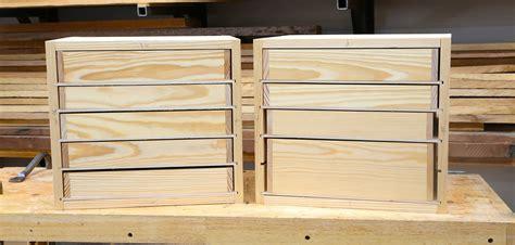 build woodshop drawers  diy tool drawer plans