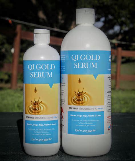 Gold Serum Spray wattlelane stables q i gold serum 450ml
