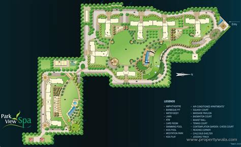 layout plan of gurgaon bestech park view spa sector 47 gurgaon apartment