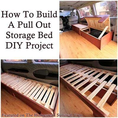 diy pallet bed with storage tutorial pallet storage bed pallets pallet storage storage beds and pallets