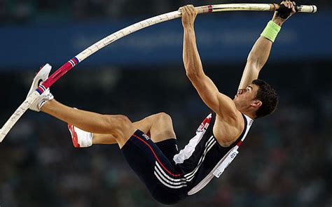 pole vault the biomechanics of planing the beaten path