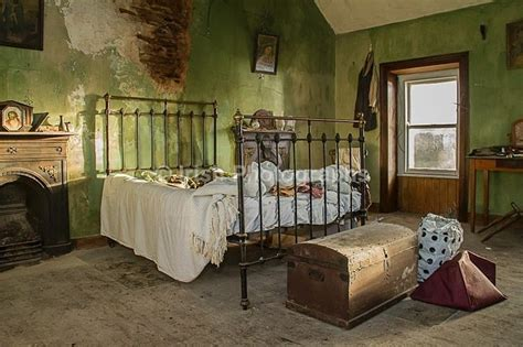 english movie bedroom irish cottage interior iron beds pinterest