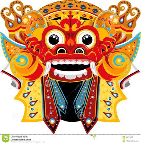 gambar tato barong bali barong bali stock illustration image of barong asian