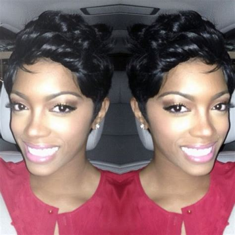 on rhoa does phedra have weave in her hair photos porsha stewart shows off new shorter hair do