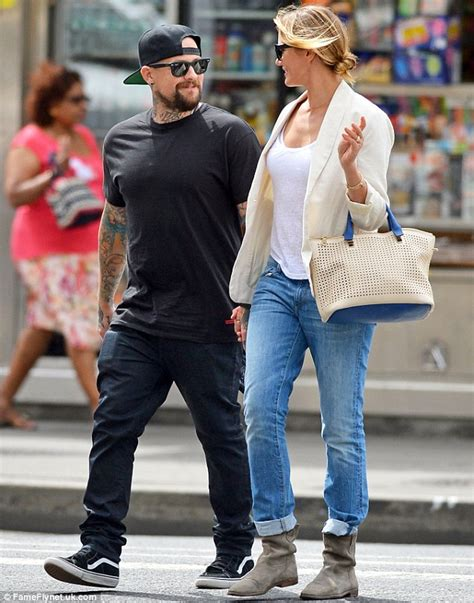 cameron diaz and benji madden looked loved up as they