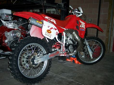 honda cr 600 motorcycle cr 500 2 stroke these are so fast they scare people