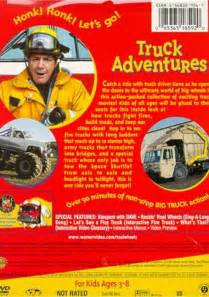 Wheels Truck Dvd Real Wheels Truck Adventures Dvd 1993 Dvd Empire