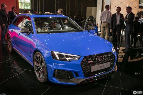 Audi Iaa 2017 by Iaa 2017 Audi Rs4 Avant