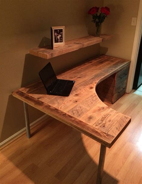 how to make a corner computer desk diy computer desk ideas space saving awesome picture