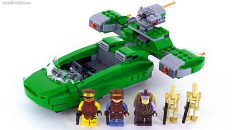 Lego Wars 75091 Flash Speeder by Lego Wars 2015 Naboo Flash Speeder Build Review
