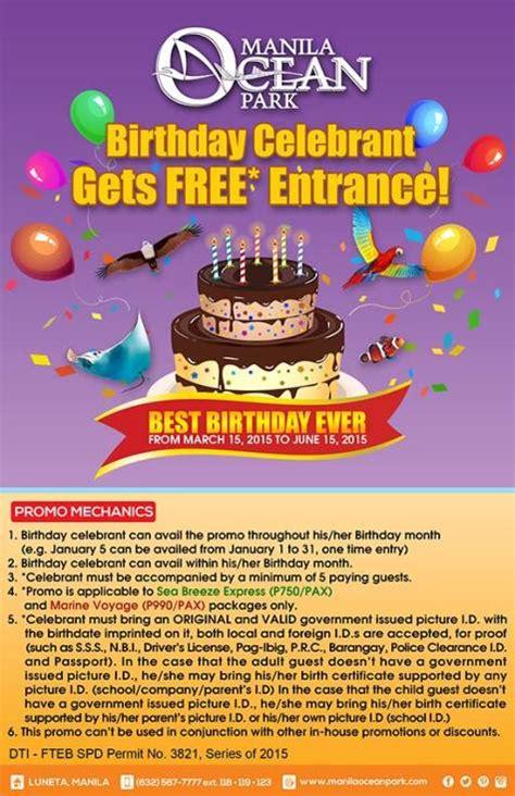 manila ocean park entrance fee reservation promos manila ocean park birthday promo philippine contests and