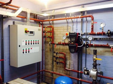 plant room boiler heating plant room chs electrical services