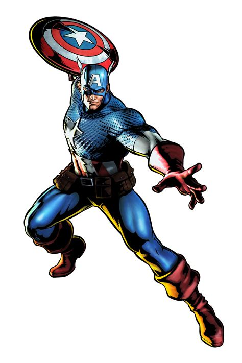 imagenes en 3d marvel captain america marvel vs capcom