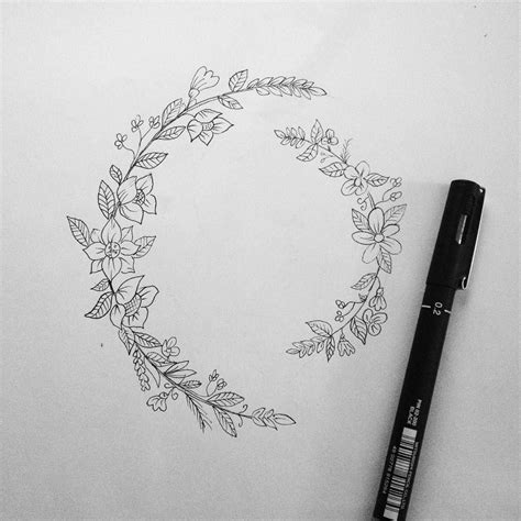 circle flower tattoo designs for the quot quot circle