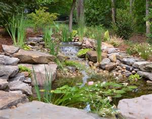 Rock Garden With Water Feature Water Features Portfolio Hay Hill Services