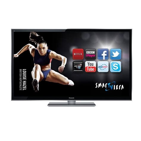Tv Panasonic Smart panasonic tx p55vt50b 55 inch hd 1080p 3d smart viera led tv with freeview hd and freesat