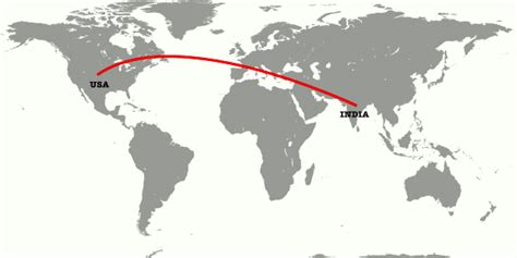 map usa to india tourist helpline your travel helpline