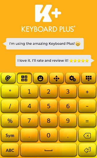 go keyboard themes yellow download yellow hd keyboard theme google play softwares