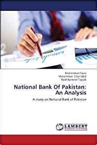 National Bank Of Pakistan An Analysis A Study On