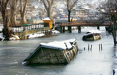 sinking houseboat amsterdam famous houseboats of kashmir are sinking into watery