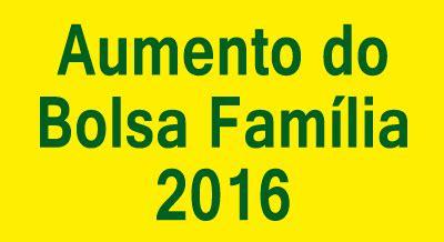 aumento em 2016 aposentados do spprev para 2016 confira os valores do aumento do bolsa fam 237 lia para 2016