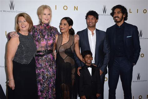 saroo brierley wife the stars of lion dazzled at the new york premiere