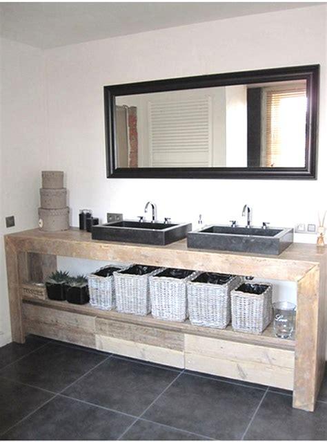 mobili bagno a due lavabi arredo bagno mobile in legno con cassetti 150x50x75 per