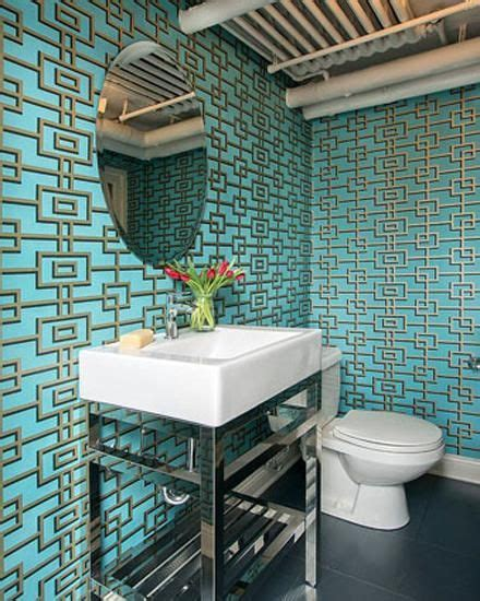 funky bathroom wallpaper ideas 17 best images about bathroom wallpaper on pinterest