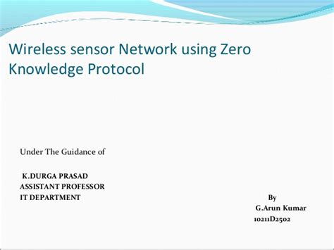 ppt templates for wireless sensor networks wireless sensor network using zero knowledge protocol ppt