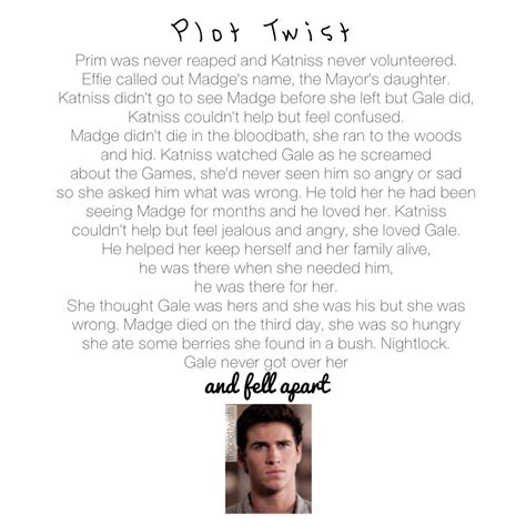the hunger plot twist by for my thought on the hunger plot twists by for my thought on