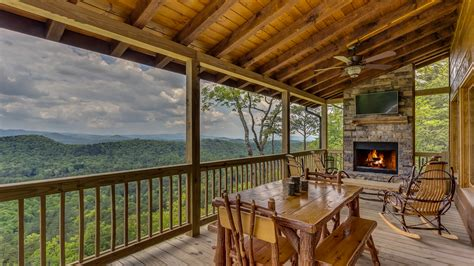 mountain cabin rentals all about the view rental cabin blue ridge ga