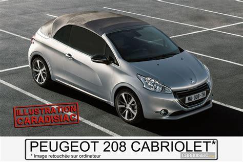 peugeot 208 cabriolet for 2015 peugeot 208 cc ou 208 cabriolet