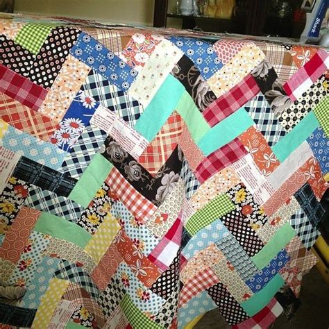 zig zag rag quilt pattern 17 best images about quilts zig zaq on pinterest
