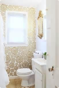 using wallpaper in bathrooms 4 smart ways to use wallpaper in your bathroom
