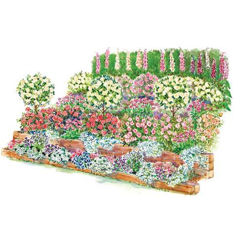 10 small blue printer garden planner fragrant slope garden plan