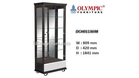 Lemari Tamu Olympic dch0113698 lemari hias kaca olympic new