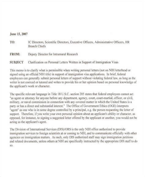 sle of support letter immigration letter of support ideal vistalist co