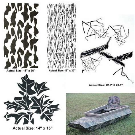 jon boat camo stencils jon boat camo stencil kits html autos post